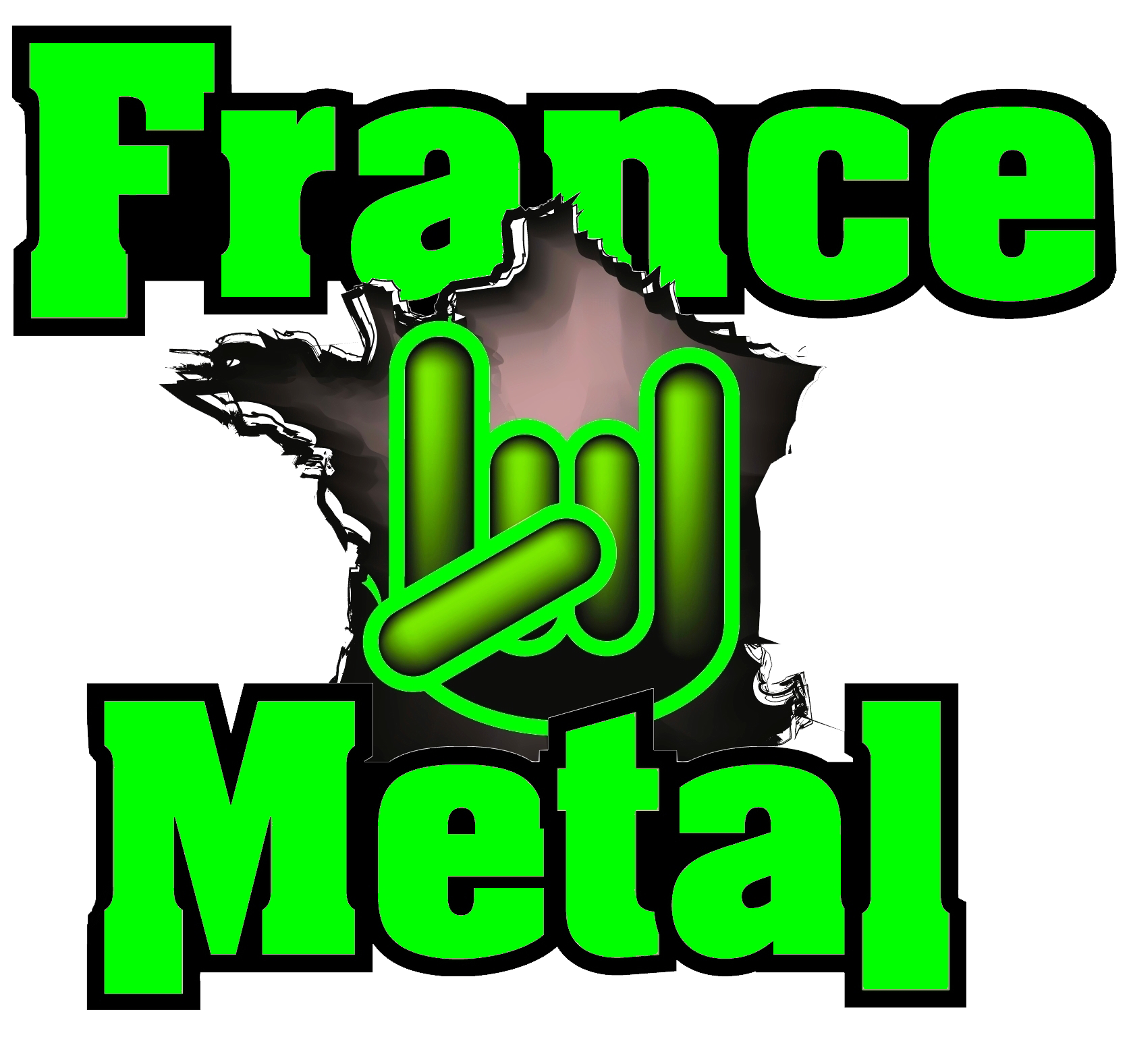 France Metal Green transparent